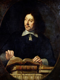 Portrait presumed to be Etienne Delafons by Philippe de Champaigne