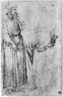 Two figures von Michelangelo Buonarroti