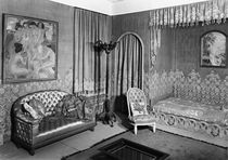 Bedroom belonging to Jeanne Lanvin c.1920-25 von Armand Albert Rateau