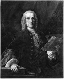 Portrait of Domenico Scarlatti von Domingo Antonio de Velasco