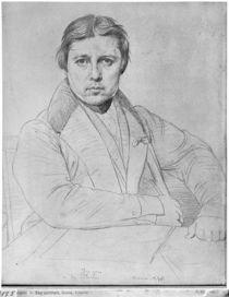 Self Portrait, 1835 by Jean Auguste Dominique Ingres