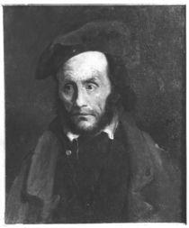The madman or the kidnapper von Theodore Gericault
