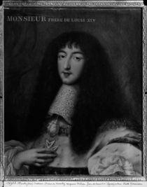Portrait of Philippe Duc d'Orleans by Pierre Mignard