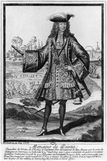 Jean Bernard Desjean Baron de Pointis von Henri Bonnart
