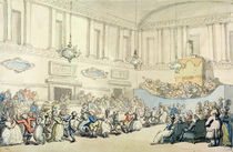 The Ball, from 'Scenes at Bath' von Thomas Rowlandson