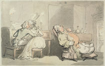 The Music Master, from 'Scenes at Bath' by Thomas Rowlandson