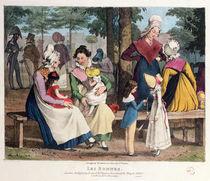 The Nannies, 1820 von John James Chalon