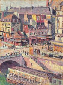 The Pont Saint-Michel and the Quai des Orfevres von Maximilien Luce