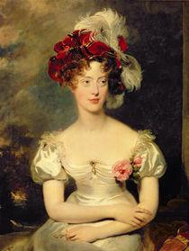 Marie-Caroline de Bourbon Duchesse de Berry von Thomas Lawrence