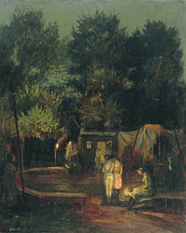 Circus under Trees, 1912 by Amandus Faure