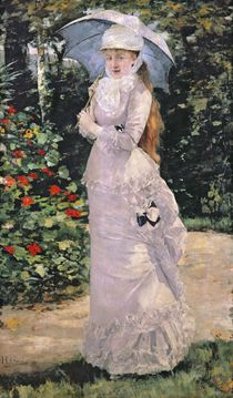 Madame Valtesse de la Bigne by Henri Gervex