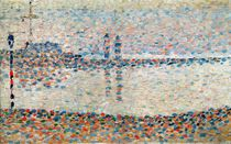 Study for 'The Channel at Gravelines by Georges Pierre Seurat