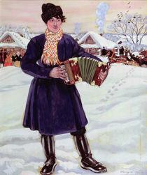 Shrove-tide, 1916 von Boris Mikhailovich Kustodiev