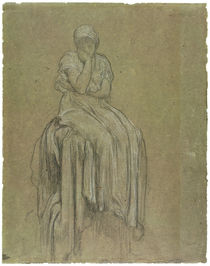 Study for Solitude, c.1890 by Frederic Leighton