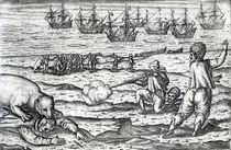 Sailors attacked by polar bears von Dutch School