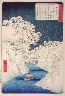 Views of Edo by Ando or Utagawa Hiroshige