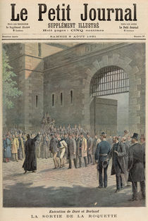Execution of Dore and Berland: Leaving La Roquette von French School