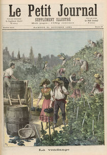 The Wine Harvest, from 'Le Petit Journal' von Henri Meyer
