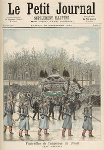 The Funeral of the Emperor of Brazil: The Carriage by Henri Meyer