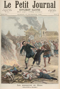 Massacre in China, from 'Le Petit Journal' von Henri Meyer