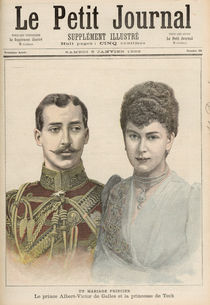 The Engagement of Albert Victor Duke of Clarence von French School