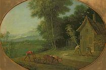 Spring Landscape, 1749 von Jean-Baptiste Oudry