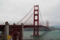 Golden Gate bridge, San Francisco  California von Federico C.