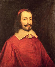Cardinal Jules Mazarin copy of a 17th century portrait by French School