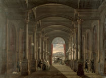 Interior of the Gare Saint-Lazare by French School