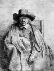 Clement de Jonghe, 1651 von Rembrandt Harmenszoon van Rijn