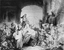 The Triumph of Mordecai, c.1640 by Rembrandt Harmenszoon van Rijn