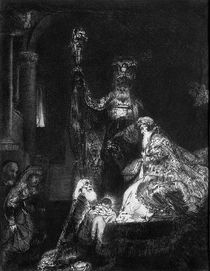 Presentation in the Temple by Rembrandt Harmenszoon van Rijn