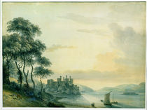 Conway Castle, 1789 by Paul Sandby