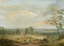 A Distant View of Maidstone von Paul Sandby