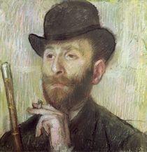 Zachary Zakarian, c.1885 von Edgar Degas