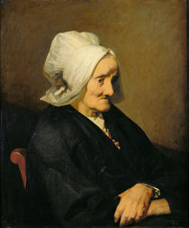 Portrait of the Widow Roumy by Jean-Francois Millet