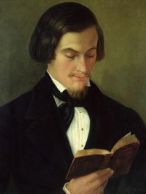 Portrait of the poet Heinrich Heine 1842 von Amalia Keller