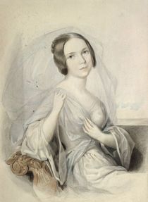 Portrait of Henriette Gertrude Sontag by Johann Nepomuk Ender
