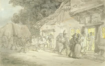 The Waggoner's Rest, c.1800-05 by Thomas Rowlandson