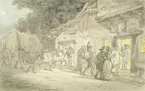 The Waggoner's Rest, c.1800-05 von Thomas Rowlandson