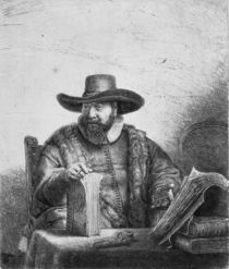 Cornelius Claesz Anslo 1640 by Rembrandt Harmenszoon van Rijn