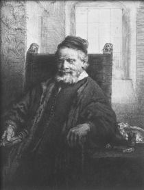 Jean Lutma, 1656 by Rembrandt Harmenszoon van Rijn