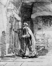 The blind Tobit, 1651 von Rembrandt Harmenszoon van Rijn