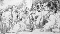 Jesus Christ among the Doctors von Rembrandt Harmenszoon van Rijn