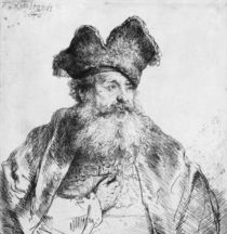 Portrait of an old man by Rembrandt Harmenszoon van Rijn
