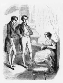 Rastignac introduced to Madame de Nucingen von Laisne