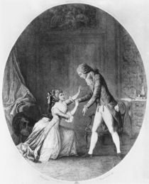 Valmont seducing Madame de Tourvel von Niclas II Lafrensen