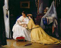 First Born, 1863 von Gustave Leonard de Jonghe