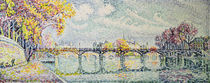 The Pont des Arts, 1928 von Paul Signac