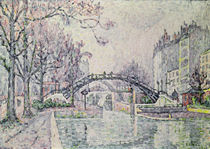 The Canal Saint-Martin, 1933 von Paul Signac